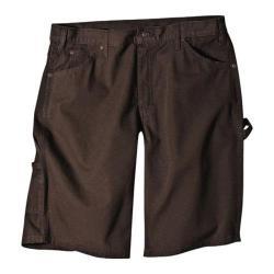 Men's Dickies 11in Relaxed Fit Ripstop Carpenter Short Chocolate Brown