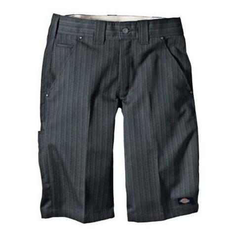 Men's Dickies 13in Regular Fit Shadow Stripe Short Graphite