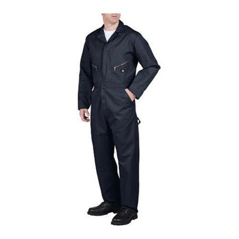 Men's Dickies Deluxe Coverall Blended Tall Dark Navy