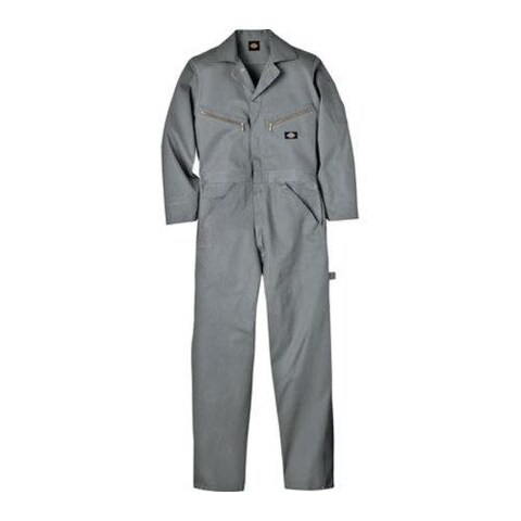 Men's Dickies Deluxe Coverall Cotton Grey