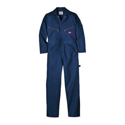Men's Dickies Deluxe Coverall Cotton Tall Dark Navy