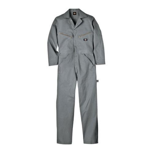 Men's Dickies Deluxe Coverall Cotton Tall Grey