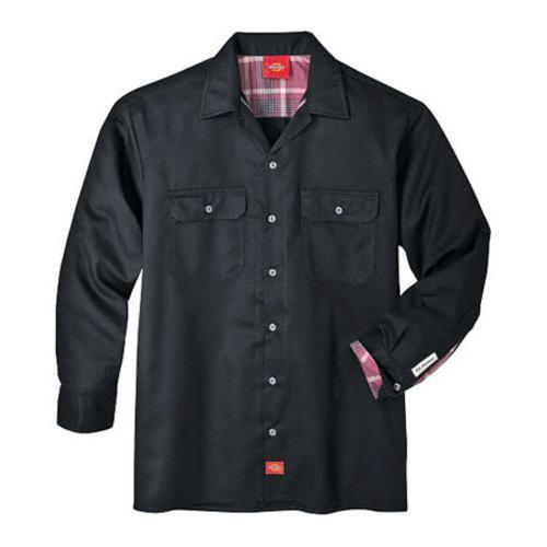 b22e8378e69 Shop Men s Dickies Long Sleeve Work Shirt Black - On Sale - Free Shipping  On Orders Over  45 - Overstock - 9701479