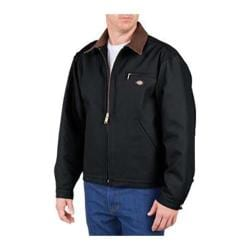 Men's Dickies Blanket Lined Duck Jacket Tall Black