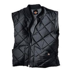 Men's Dickies Diamond Quilted Nylon Vest Black|https://ak1.ostkcdn.com/images/products/86/176/P16879042.jpg?impolicy=medium