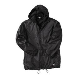 Men's Dickies Fleece Lined Hooded Nylon Jacket Black