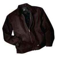 Men's Dickies Insulated Eisenhower Jacket Long Dark Brown