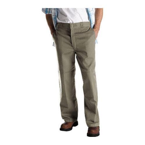 Men's Dickies Loose Fit Double Knee Work Pant 30in Inseam Khaki
