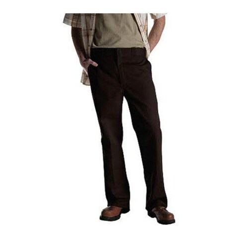 Men's Dickies Original 874 Work Pant 30in Inseam Dark Brown