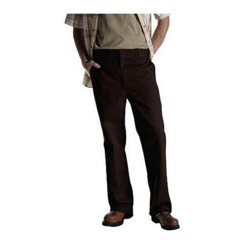 Men's Dickies Original 874 Work Pant 36in Inseam Dark Brown