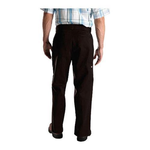 Men's Dickies Loose Fit Double Knee Work Pant 32in Inseam Dark Brown