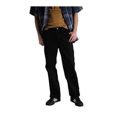 Men's Dickies Regular Fit Staydark Pant 34in Inseam Black