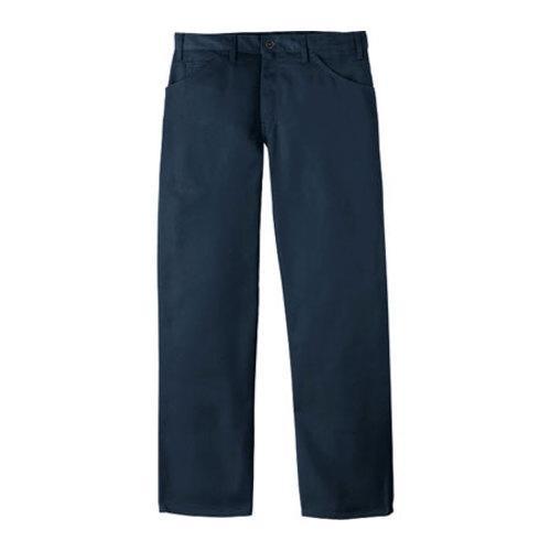 Men's Dickies Regular Fit Staydark Pant 34in Inseam Dark Navy