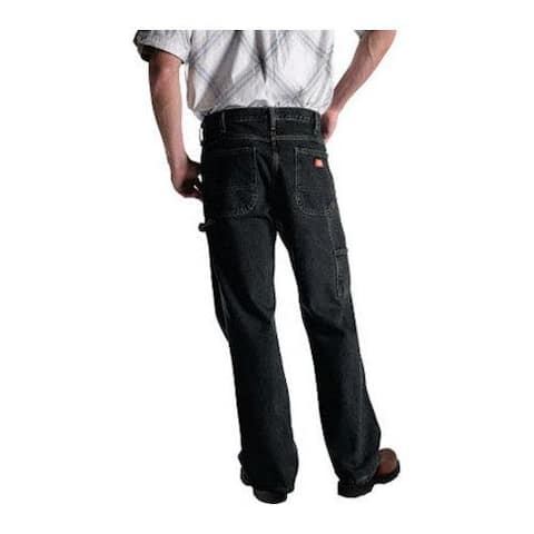 Men's Dickies Relaxed Fit Carpenter Jean 32in Inseam Brown Tint