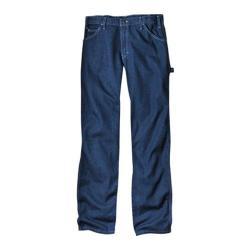 Men's Dickies Relaxed Fit Carpenter Jean 36in Inseam Indigo Blue Rigid