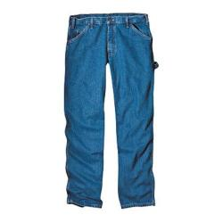 Men's Dickies Relaxed Fit Carpenter Jean 36in Inseam Stone Wash Blue