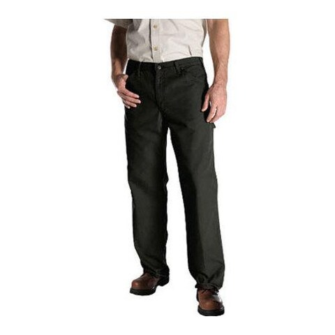 Men's Dickies Relaxed Fit Duck Jean 36in Inseam Moss
