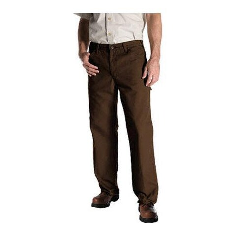 Men's Dickies Relaxed Fit Duck Jean 36in Inseam Timber