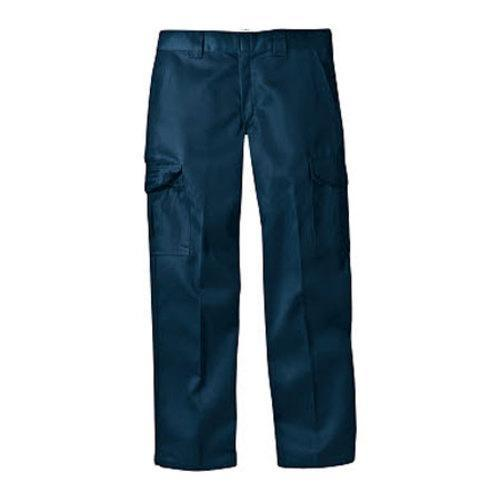 Men's Dickies Relaxed Straight Fit Cargo Work Pant 34in Inseam Black