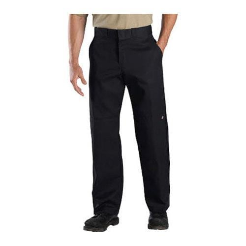 Men's Dickies Relaxed Straight Fit Double Knee Work Pant 34in Ins Black