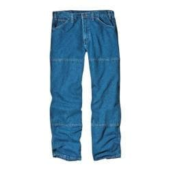 Men's Dickies Relaxed Fit Workhorse Jean 30in Inseam Stone Wash Blue