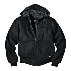 Men's Dickies Rigid Duck Hooded Jacket Black