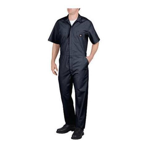 Men's Dickies Short Sleeve Coverall Short Dark Navy