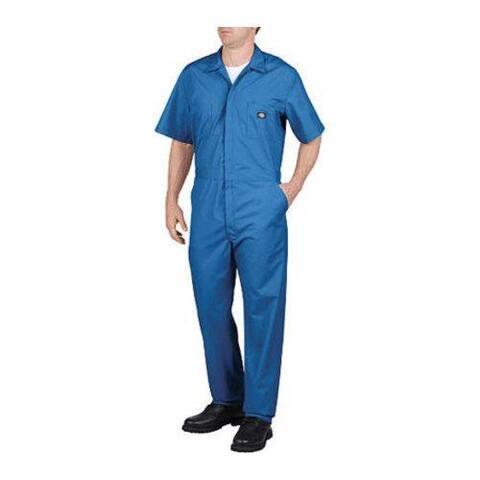 Men's Dickies Short Sleeve Coverall Tall Medium Blue