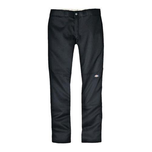Men's Dickies Skinny Straight Fit Double Knee Work Pant 34in Inse Black