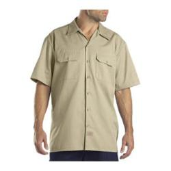 Men's Dickies Short Sleeve Work Shirt Desert Sand