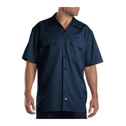 Men's Dickies Short Sleeve Work Shirt Navy|https://ak1.ostkcdn.com/images/products/86/181/P16882081.jpg?impolicy=medium