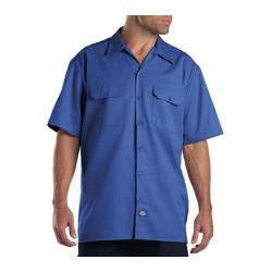 Men's Dickies Short Sleeve Work Shirt Royal Blue