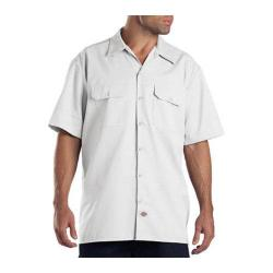 Men's Dickies Short Sleeve Work Shirt White|https://ak1.ostkcdn.com/images/products/86/181/P16882085.jpg?impolicy=medium