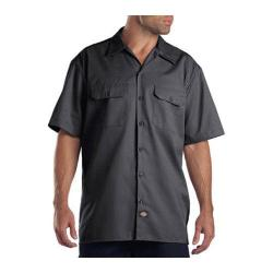 Men's Dickies Short Sleeve Work Shirt Charcoal