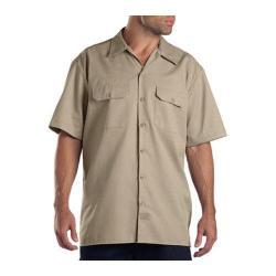 Men's Dickies Short Sleeve Work Shirt Khaki