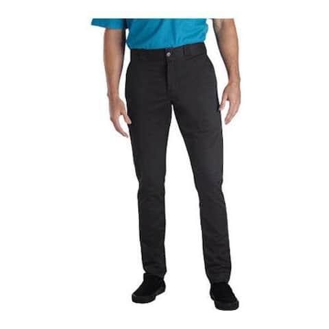 Men's Dickies Skinny Straight Fit Work Pant 30in Inseam Charcoal