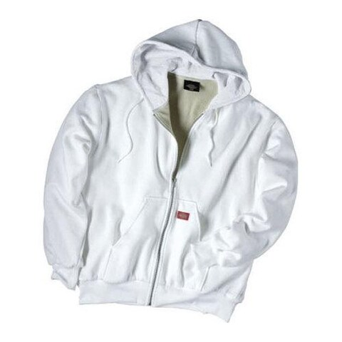 Men's Dickies Thermal Lined Fleece Jacket White