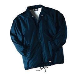 Men's Dickies Snap Front Nylon Jacket Dark Navy https://ak1.ostkcdn.com/images/products/86/183/P16882151.jpg?impolicy=medium