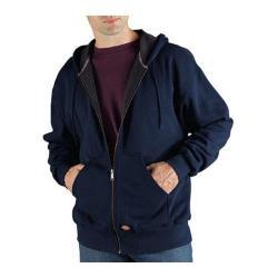 Men's Dickies Thermal Lined Fleece Jacket Tall Dark Navy
