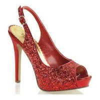 Women's Fabulicious Lumina 28G Red Glitter