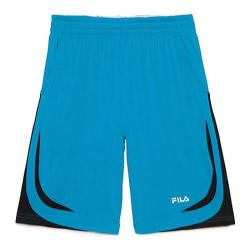 Boys' Fila Baseline Short Atomic Blue/Black/White