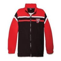 Men's Fila Basketball Jacket Black/Fila Red/Fila Red