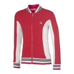 Men's Fila Borg Jacket Chinese Red/Gardenia/Peacoat
