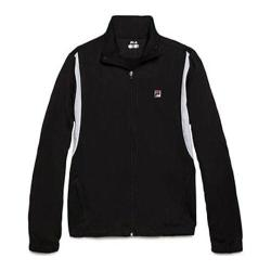 Men's Fila Break Point Jacket Black/White