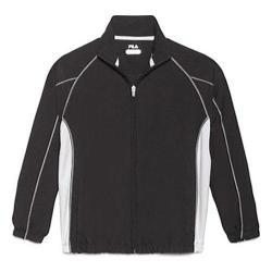 Boys' Fila Club House Jacket Black/White