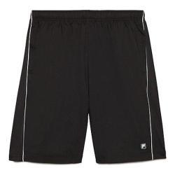 Men's Fila Fila Tennis Short Black/White