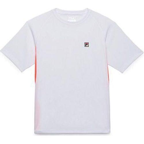 055d1af480e0 Shop Boys  Fila Game Crew White Fiery Coral - Free Shipping On Orders Over   45 - Overstock.com - 9706368
