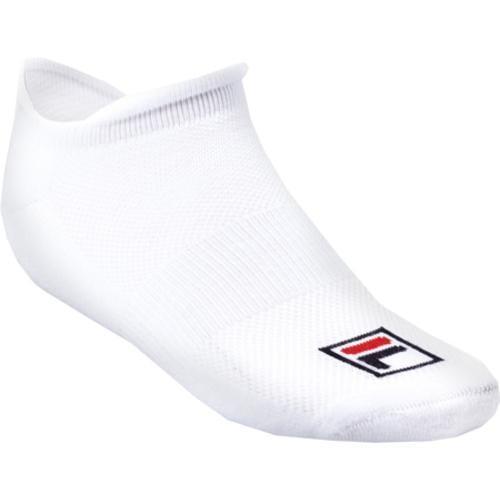 Women's Fila No Show Socks White