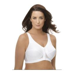Glamorise Women's White Magic Lift Posture Back Bra