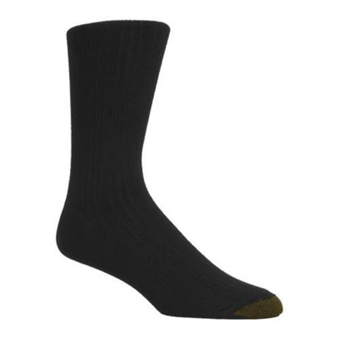 Men's Gold Toe Rayon from Bamboo 2226S (12 Pairs) Black